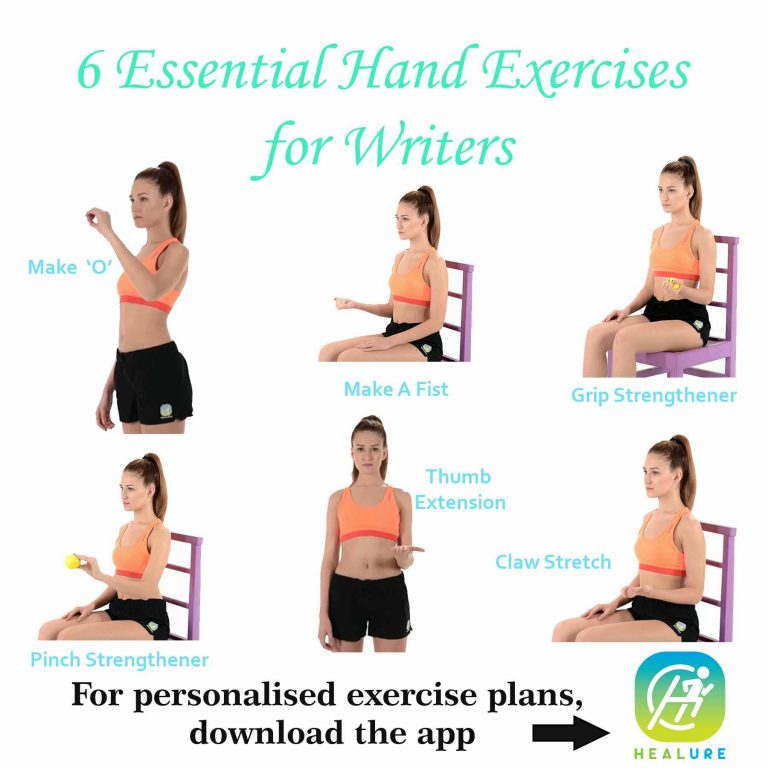 6 Essential Hand Exercises for Writers