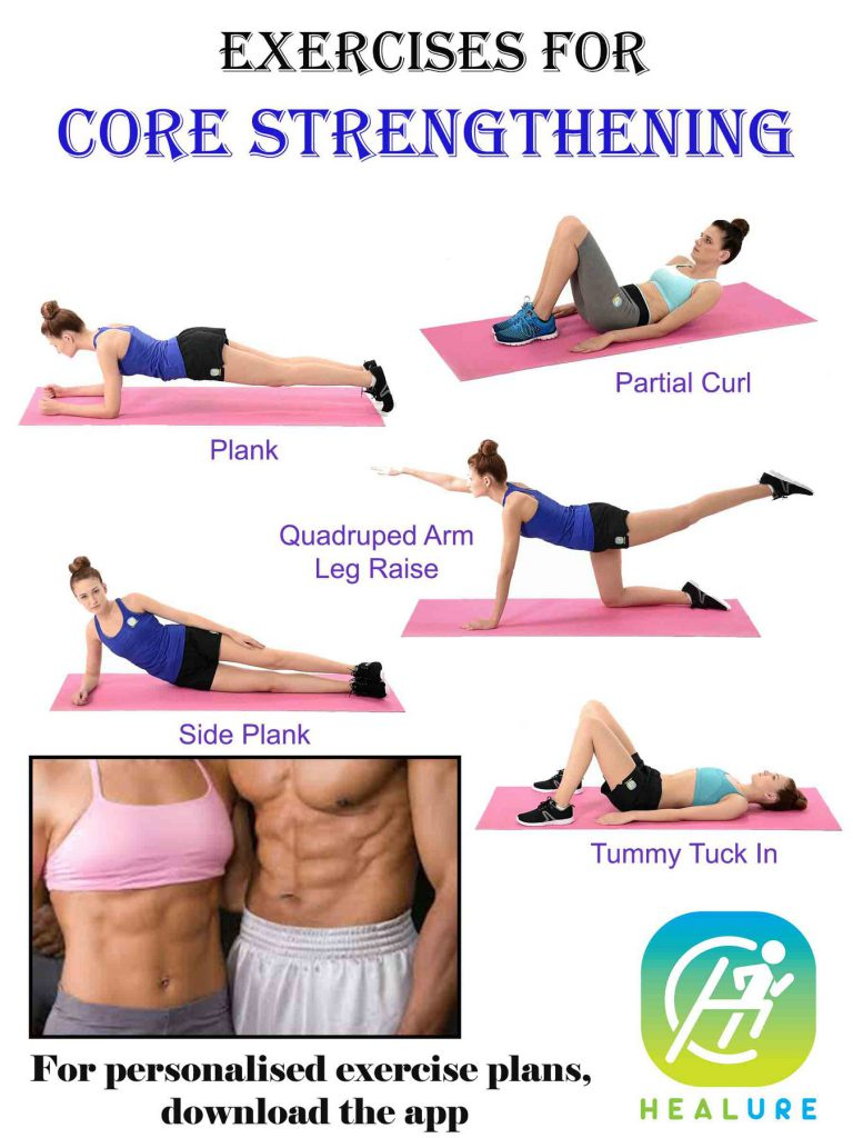 Exercises For Core Strengthening