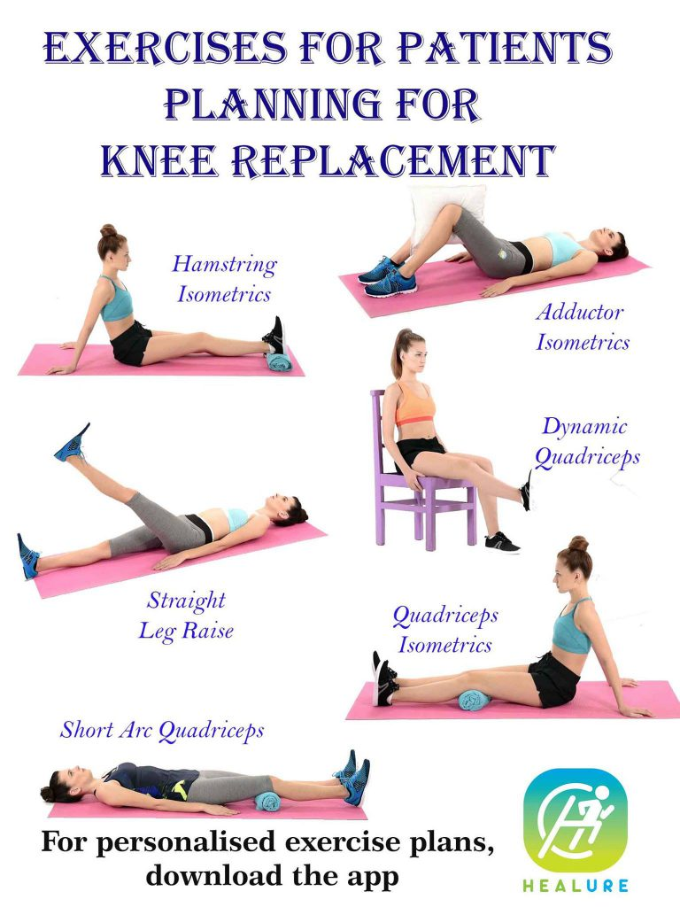 Exercises For patients Planning for Knee Replacement