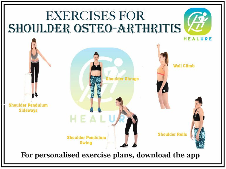 Exercises for Shoulder Osteo-Arthritis