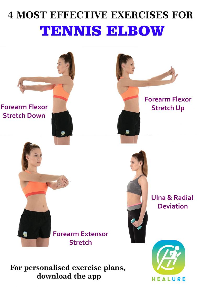 4 Most Effective Exercises For Tennis Elbow