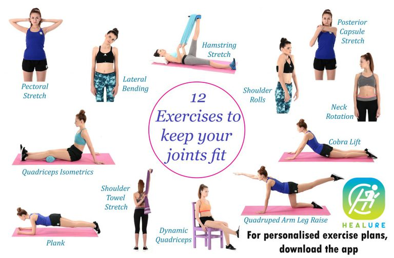 12 exercises to keep your joints fit