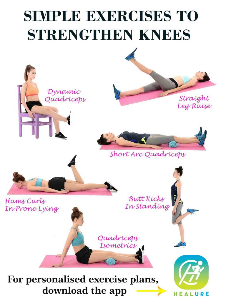 Simple Exercises to Strengthen Knees