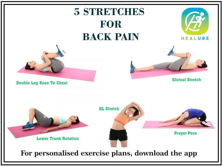 5 Stretches for Back Pain